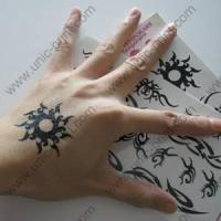 Quality Sun Symbol Temporary Tattoo Sticker/Decal for sale