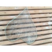 Quality 4 / 3 / 2 Mm Beveled Edge Picture Frame Glass Tempered Technical Curve Flat for sale