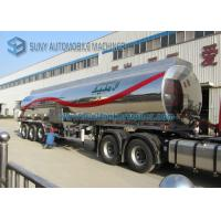 Quality Customized Stainless Steel Tanker Trailers for sale