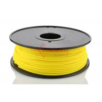 Quality Yellow Rapid Prototyping 3MM ABS Filament Plastic for Makerbot / Printerbot 3D Printer for sale