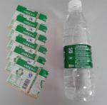 Quality PVC Water Bottle Shrink Sleeve Labels For Detergent Bottle Packaging for sale