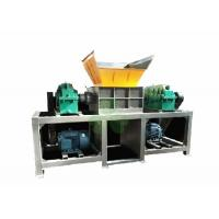 Quality PC Auto Control Double Shaft Shredder Machine For Steel / Iron / Aluminum Profile for sale