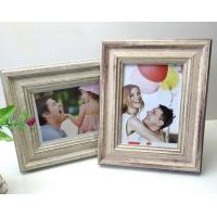 6 inch High Quality PS material imitate metal fasional photo frame