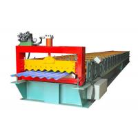 Quality Color Steel Trapezoidal Sheet Roll Forming Machine , Wall Panel Roll Forming Machine for sale