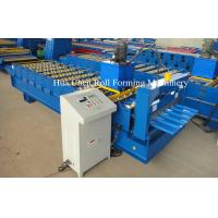 Quality CNC Colored Steel Roofing Sheet Roll Forming Machine For Steel Roof And Wall for sale