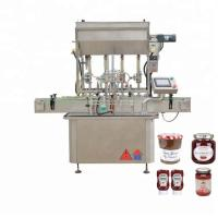 China 304 Stainless Steel Honey Filling Machine For Semi - Liquid Products on sale