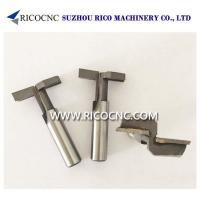 Quality Customized T Slot Slatwall Router Cutter Bits for Slat Wall Grooving for sale