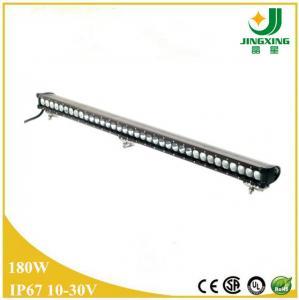 China 2015 popular single row led light bar 180w 12v led light bar for truck on sale