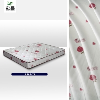 Quality Premium Silky 215cm Brushed Polyester Fabric Mattress Cover for sale