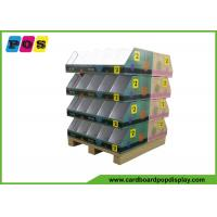 China Knitting Wool Promotion Cardboard Pop Displays Stand with CMYK color printing on sale