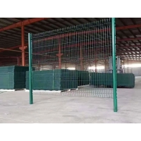 Quality H1.8m Welded Garden Fence , Pvc Coated Welded Wire Mesh Panels for sale
