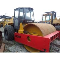 Quality used dynapac CA30D road roller  double drum compactor year 2003 new painting for sale