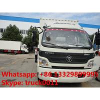 Quality foton 130hp cold room truck for sale, hot sale foton Aumark refrigerated truck for sale, 2019s new cold room truck for sale