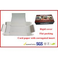 China 1000g Grey Rigid Board Folding Magnetic Gift Packaging Boxes , Offset Printed Pen Gift Packaging Boxes on sale