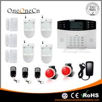 Quality PSTN  LCD Display Wireless Security Alarm Sytem with dial-up for home for sale