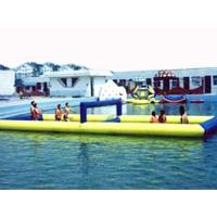 Quality Inflatable Water Sports, Inflatable Water Floating Volleyball Court for sale