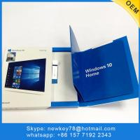 Quality Original Retail Box 64 Bits 3.0 Usb Flash Microsoft Windows 10 Home Software Download for sale