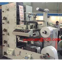 China High Precision Automatic Label Flexo Printing Machine 6 Color 380v 50Hz on sale