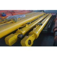 Quality Single / Double Acting Hydraulic Cylinder Flat Gate Hydraulic Hoist For Dump Truck for sale