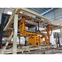 Quality Automatic Lightweight Concrete Block Production Plant for Building - ISO9001 380V Rotary Crane AAC Block Cutting Machine for sale