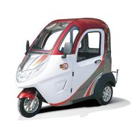 Quality 4m Braking Distance 60V 32Ah Enclosed Electric Tricycle for sale