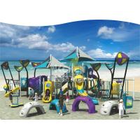 Quality Outdoor Playground  Plastic coating stage kids game For Kindergarten and park for sale