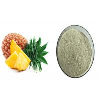 Quality ISO Certified Pineapple Extract Powder Improving Immunity For Heath Products for sale