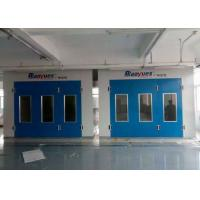 Quality 6.9M Downdraft Spray Painting Room Diesel Burner Drying Chamber For Workshop for sale