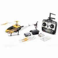 Quality RTF 4CH RC Helicopter with 3-axis Gyro, Flybarless Design and 45mm Overall Length for sale