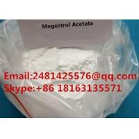 Quality CAS 595-33-5 Raw Hormone Powders Megestrol Acetate For Female Health for sale