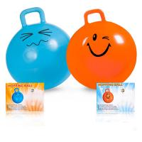 Quality 45cm Inflatable Space Hopper Ball Toy Bouncer Improve Balance Strength for sale