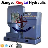 China Hydraulic steel wire rope press machine for wire rope slings on sale