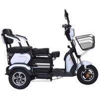 Quality Front Basket 20Ah 60V Three Wheel Electric Scooter for sale