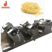 Quality Stainless Steel Egg Instant Noodle Making Machine , Automatic Noodle Production Line for sale