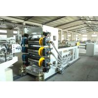 Quality TPU Plastic Sheet Extrusion Machine Compact Structure High Ductibility for sale