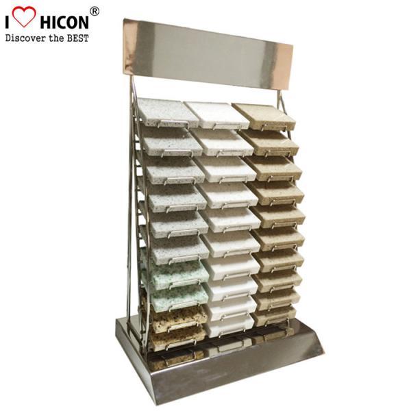 Custom Countertop Metal Wire 30 Piece of Marble Tiles Display Racks ...