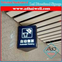 Quality Wall Mounted Acrylic LED Directory Sign Board for sale