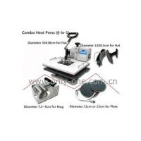 Quality 5 in 1 Combo Heat Transfer Machine for sale