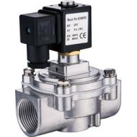 Quality Economic Right Angle Solenoid Valve DN20 ~ 25 ASCO Type With Seal Material NBR Standard for sale
