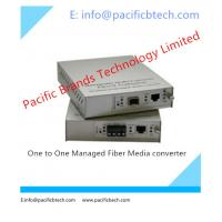 Buy cheap One to One Managed GE Fiber Media Converter from Wholesalers