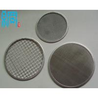 China Stainless Steel Wire Mesh Filter Discs on sale