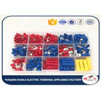 Quality Electrical Wire Insulated Crimp Terminal Assortment Kit Spade Assorted Set KLI-9917432 for sale