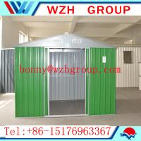 Quality prefab garden shed / tools shed made in China for sale