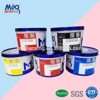 China uv offset printing ink for gold and silver cards on sale
