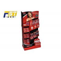 Quality L Shape Cardboard POP Displays Paper Material Printing With Glossy Lamination for sale