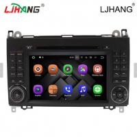 Buy 1024*600 Map Solution Mercedes Benz DVD Player 240 Dpi With Media Card at wholesale prices
