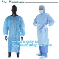 China Sterile blister packing for SMS/PP surgeon Gown,  Protective Sterile Hospital Disposable Medical, Nonwoven Medical Clot on sale