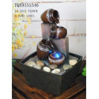 Small Table Water Fountain For Home Decor , Tabletop Waterfall Fountain With Light