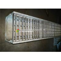 China Twisted Steel Metal Grate Drain Cover , Driveway Trench Drain GratesSilver Color on sale