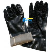 China 100% cotton interlock shell with PVC dipped smooth finished work glove-BGPC601 on sale